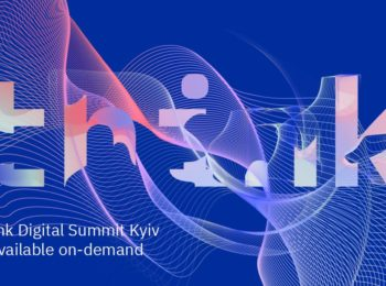 Доклад РДТЕХ на конференции IBM Think Digital Summit Kyiv